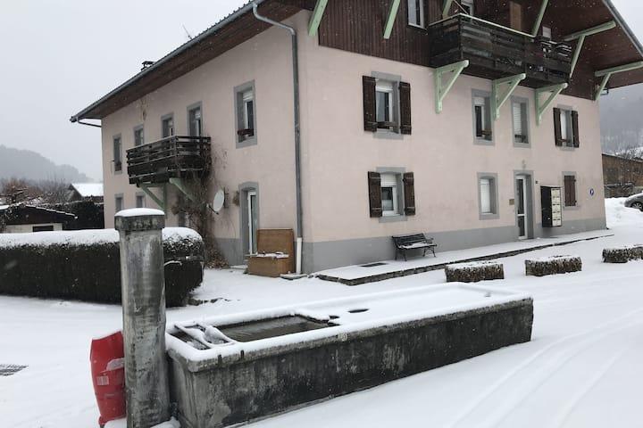 Casa moderna en Servoz Ródano-Alpes con terraza