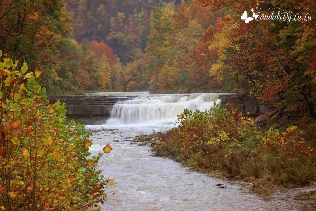 Walking distance to the Keuka Outlet Trail