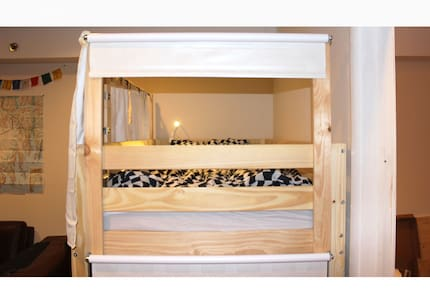 Namaste-Low Priced Comfortable Private Bunk Beds - Queens