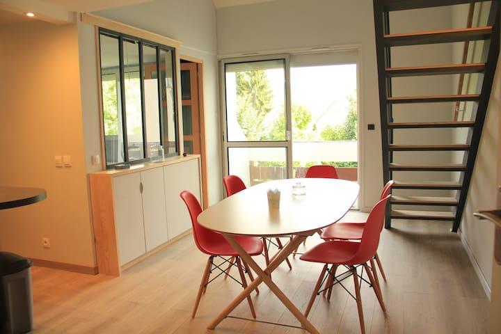 Appartement rénové 4/6 personnes à Argeles Gazost - Argelès-Gazost - Lakás