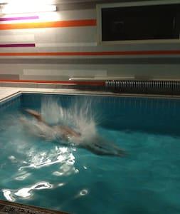 Schwimmen Dampfbad und Saunieren - Ditzingen - Ház