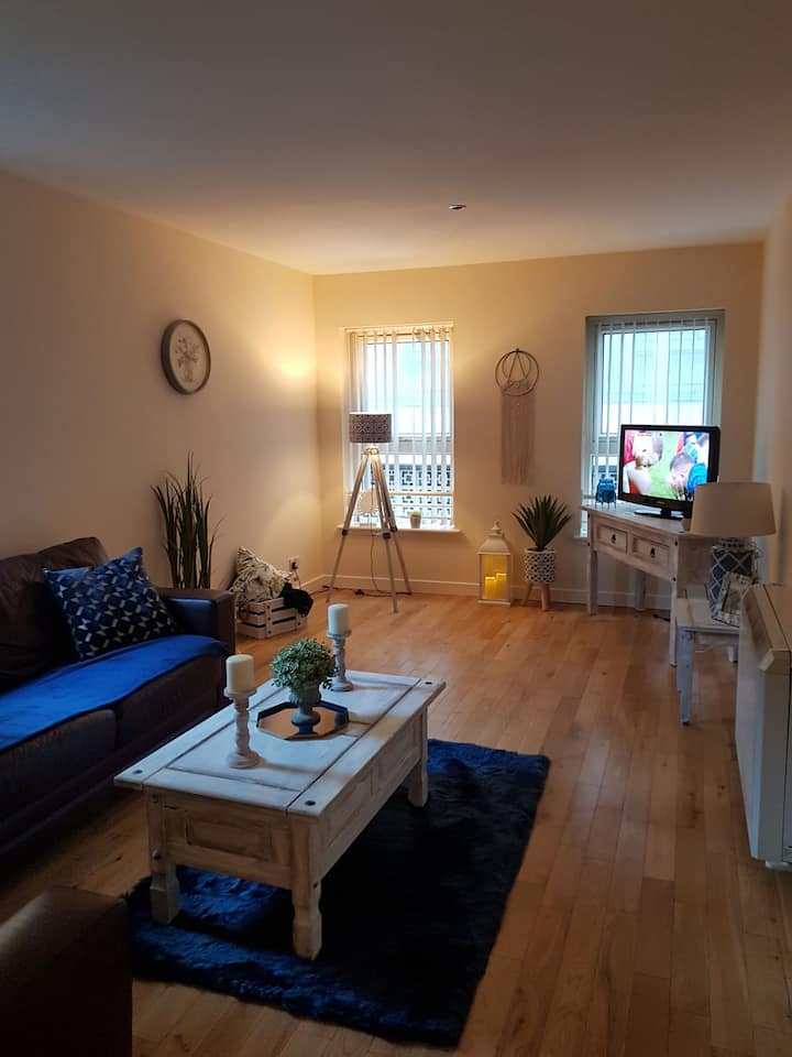 CityCentre apartment.5 min from bus&train station