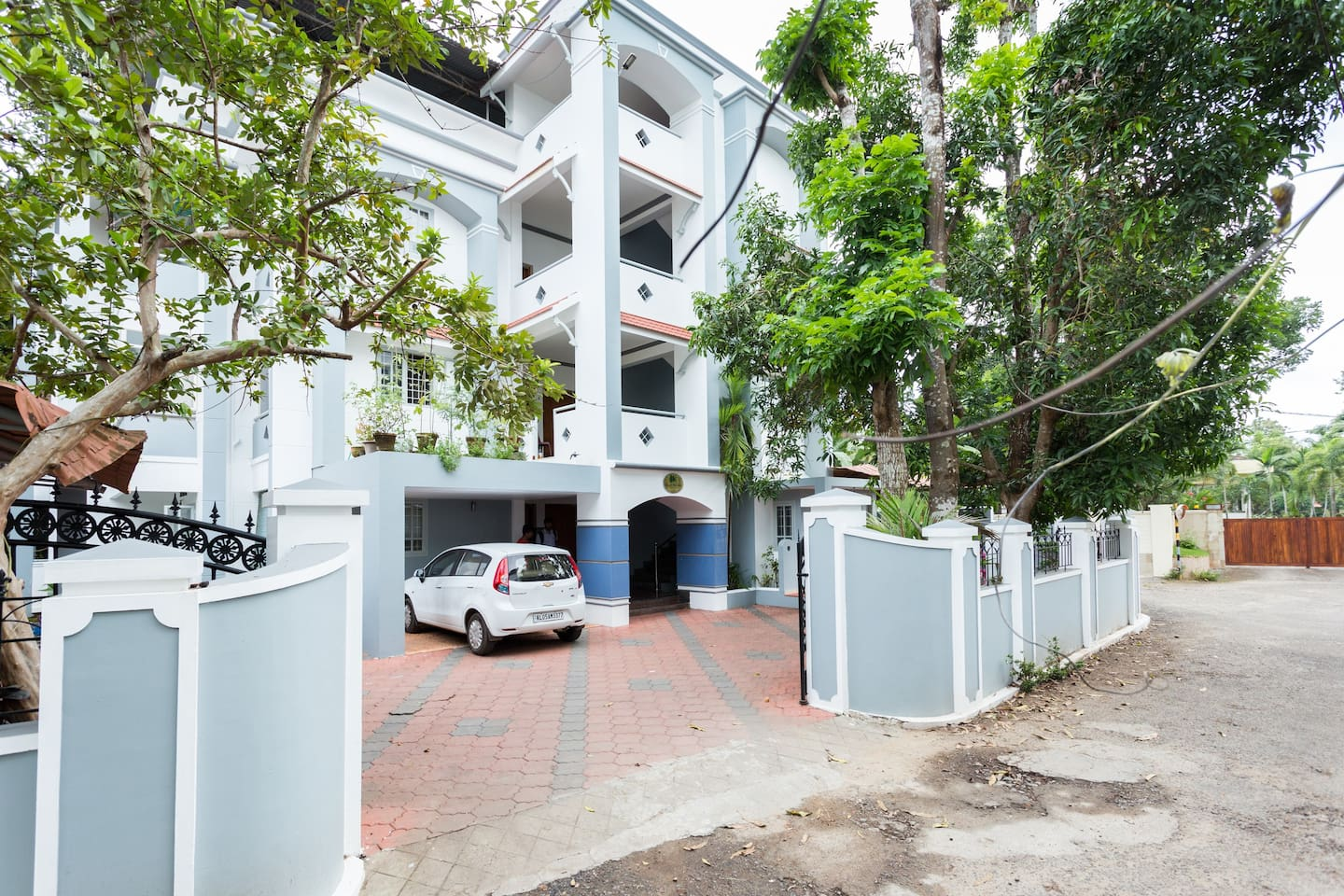 Frontage of Apartment.