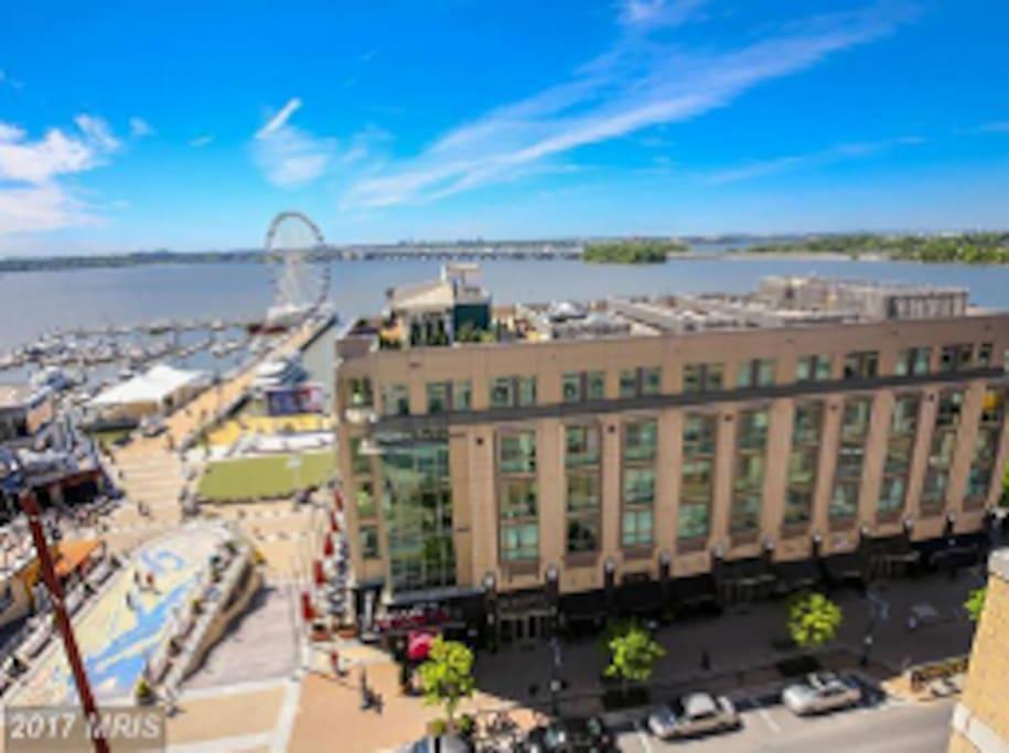 Condo location - in the heart of the harbor