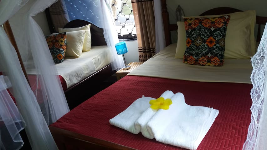 Anna's Place Entebbe - Deluxe Twin Room