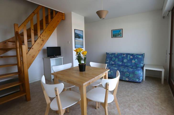 T2 DUPLEX DANS RESIDENCE AVEC PISCINE - Bretignolles-sur-Mer - Apartment