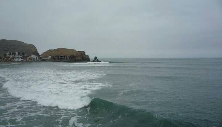 Departamento  frente al  mar     en  Cerro Azul