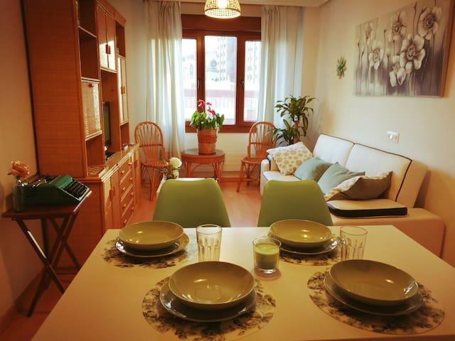 Luminoso apartamento en el corazón de Oviedo