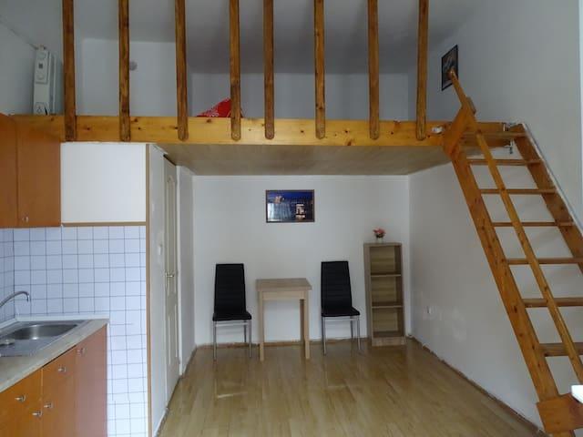 布达佩斯8区单间公寓