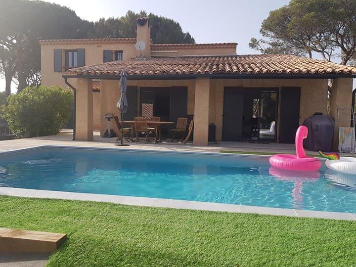 Charmante maison avec piscine sur la Côte d'azur