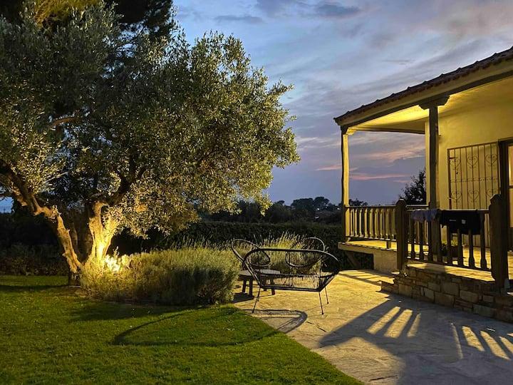 Sea View Villa in Olive Garden