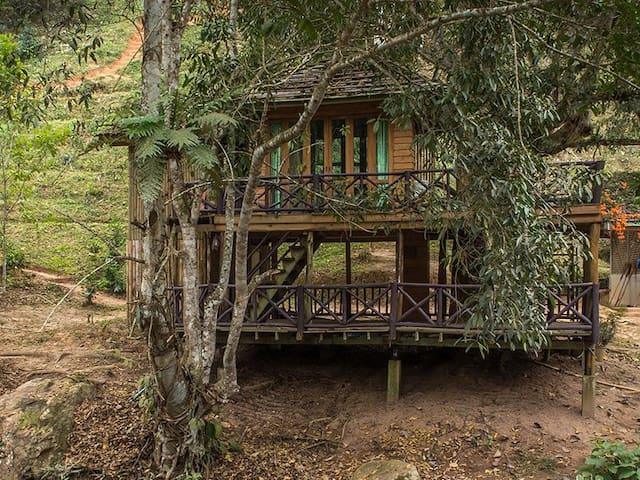 DreamCaught Treehouses - Treehouse - Mae Taeng - บ้านต้นไม้