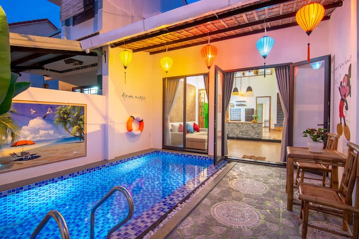 Private 2 bedrooms pool villa - Tan Thanh beach