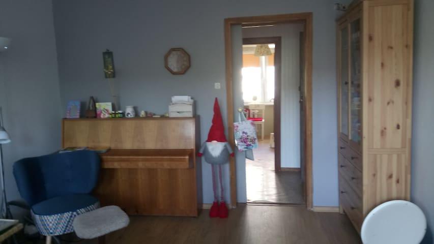 Przytulne mieszkanko w stylu norweskim.