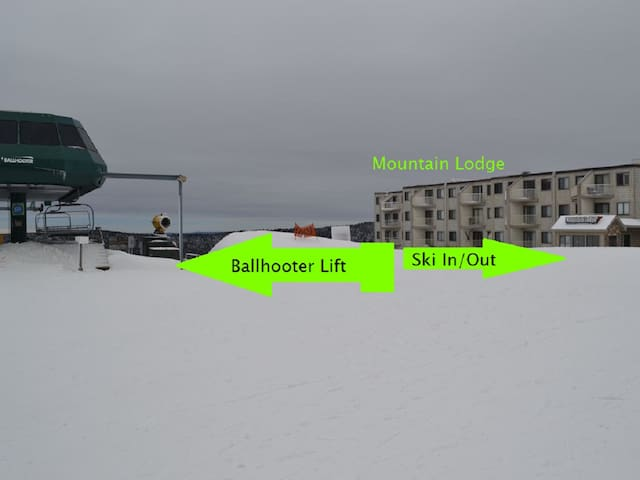 1st Flr, Mnt/lake view, Village Ski in/out Mtn.Ldg