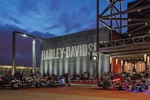 1.4 miles from the Harley Davidson Museum