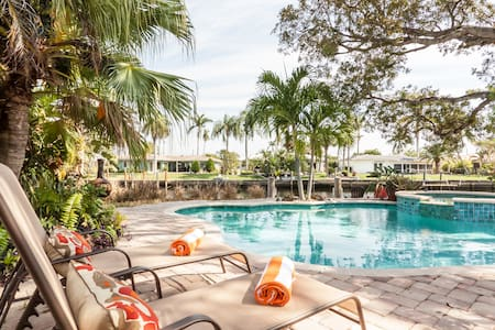 Florida Tropical Retreat. Waterfront and Pool Home - Pompano Beach - House