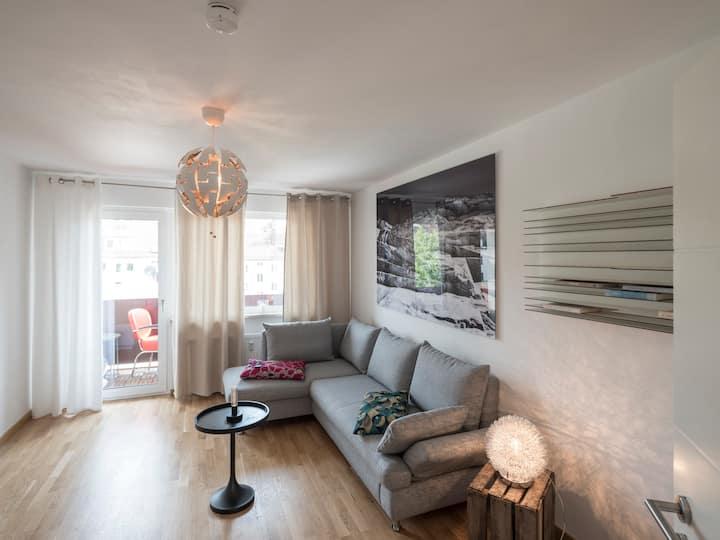 Design Wohnung voll ausgestattet