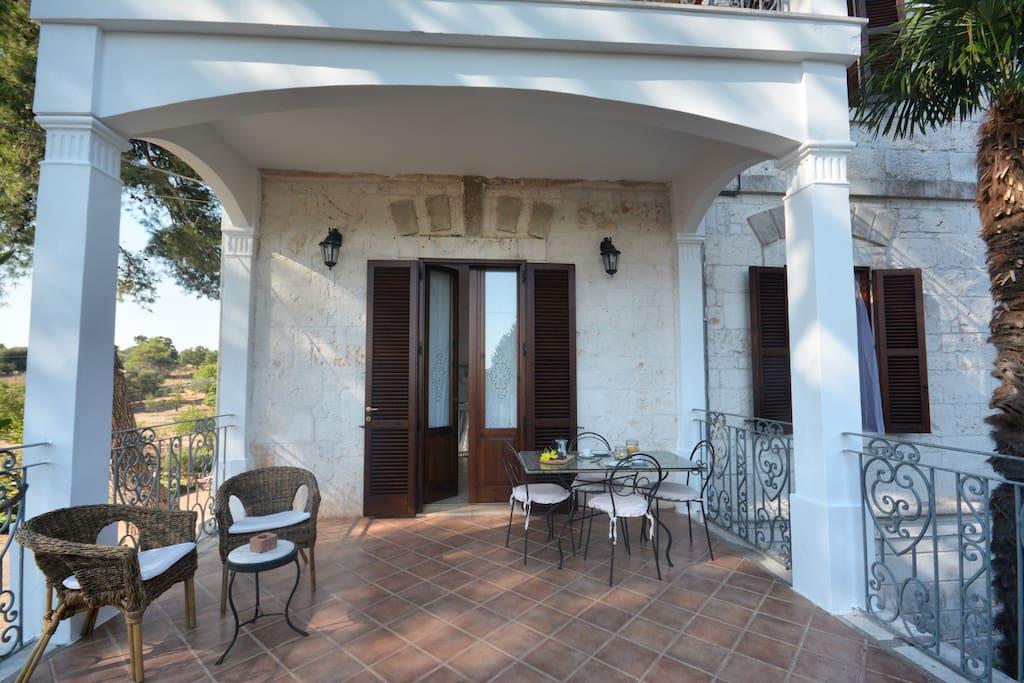 Patio / Ingresso veranda
