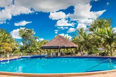 Flat Pontal do Lago - Lazer com Natureza. - Caldas Novas - Apartment-Hotel