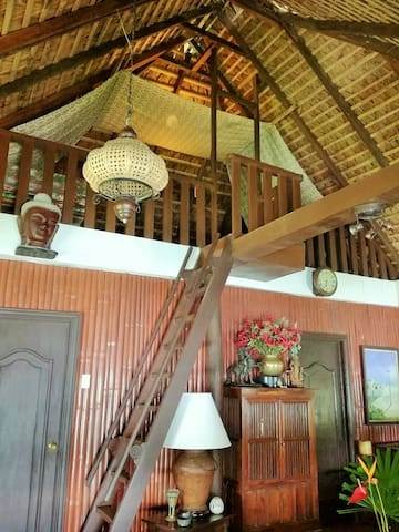 Upstairs sleeping area