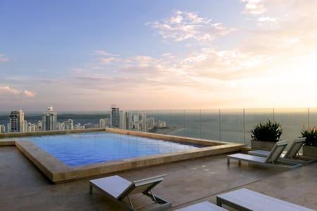 Sea view luxury apartment, Bocagrande