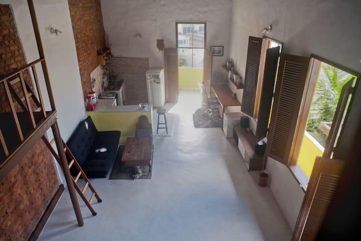 Loft spazioso vicino al Maracanà e Sambodromo.