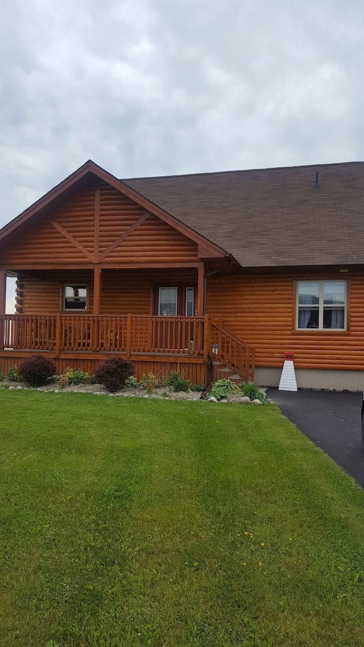Log house by sea B&B  #1 Ocean front  & BREAKFAST