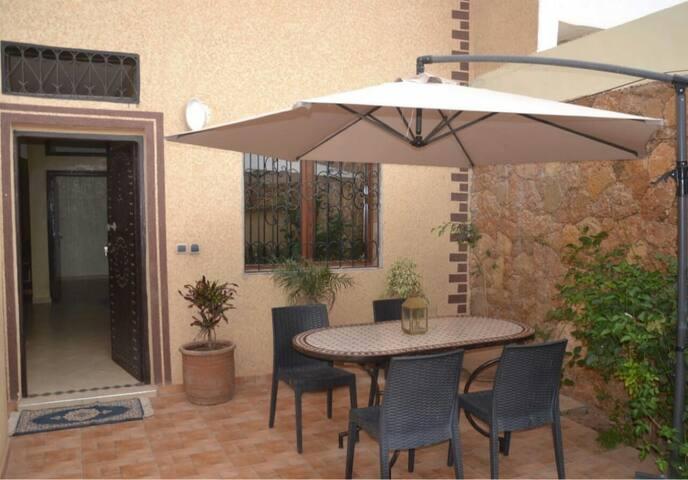 Des appartements de lux bien equiper sur Agadir