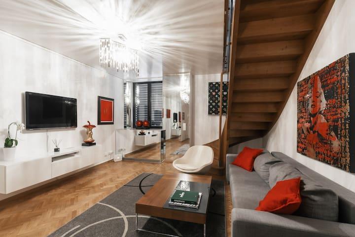 Beautiful duplex apartment in the heart of Geneva
