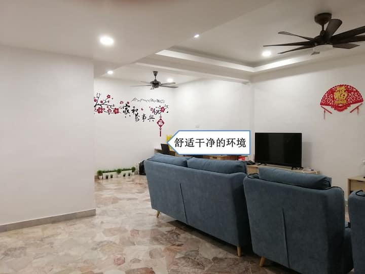 Kluang Home Sweet Home Stay Room 1