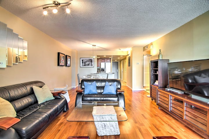 NEW! Downtown Denver High Rise w/ City + Mtn Views