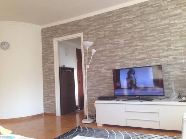 10 min away to Brussels citycentrum - Zellik - Apartment