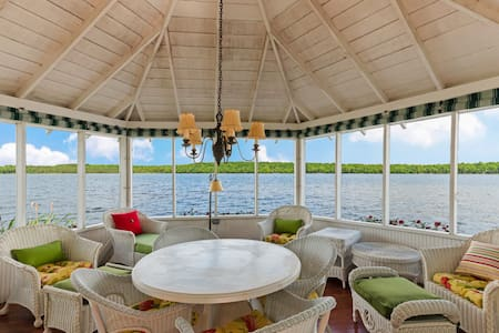 NEW LISTING! Historic lakefront home w/ private sauna, & pool table!