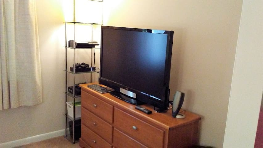 "GreatBed/48""HD/Xbox360/PS3/WiFi TownCenterFun1mi."