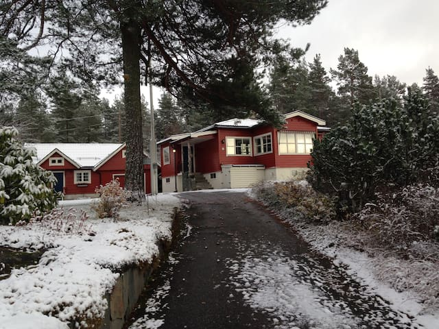 Timbermans single room - Nesodden - Casa