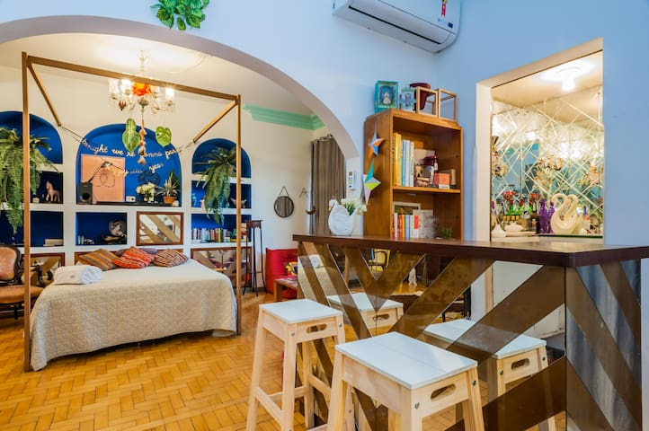 LINDO LOFT COM AR CONDICIONADO (PET FRIENDLY)