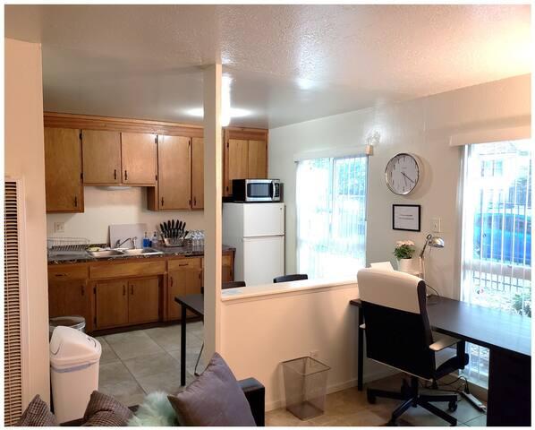 Kitchen & Desk