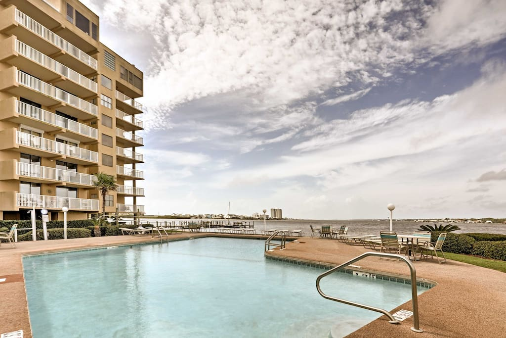 You'll be treated to resort-like amenities during your stay, including 2 pools, a grilling area, fishing pier, fishing cleaning stations, and more.