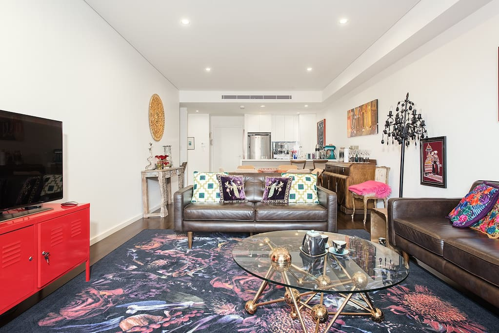 The Open Plan Living Space Design