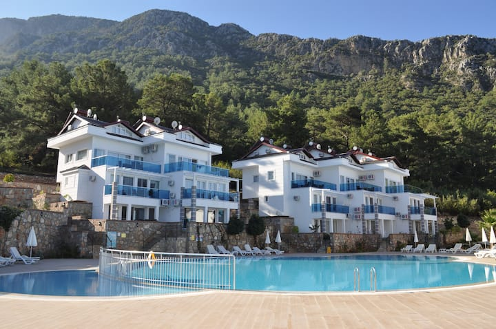 Orka Royal Hills Apartments D1 with Patio and BBQ.