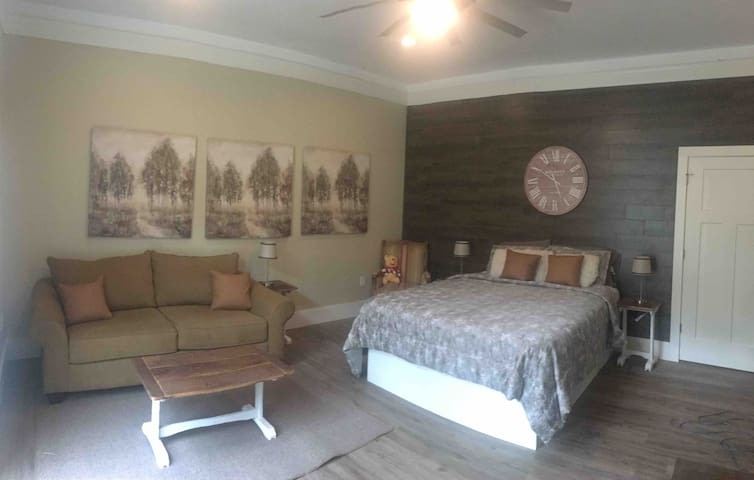 Room #2 Queen size bed + Sofa / Bed (double bed)