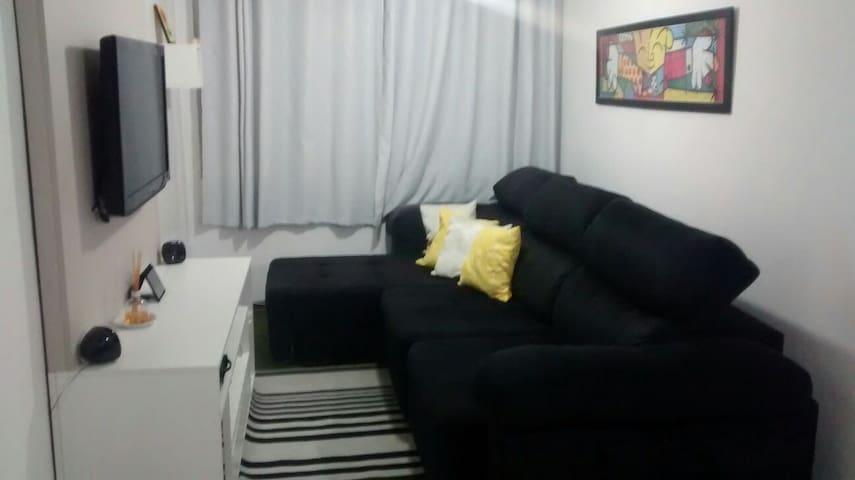 Quarto confortável, tranquilo comércio próximo - São Paulo - Appartement