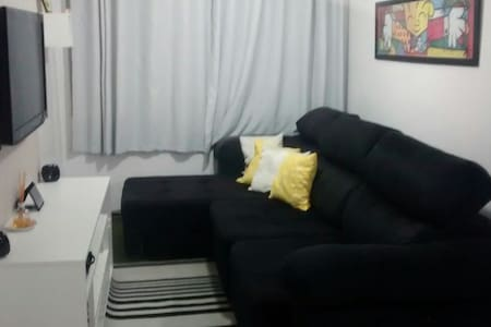 Quarto confortável, tranquilo comércio próximo - サンパウロ - アパート