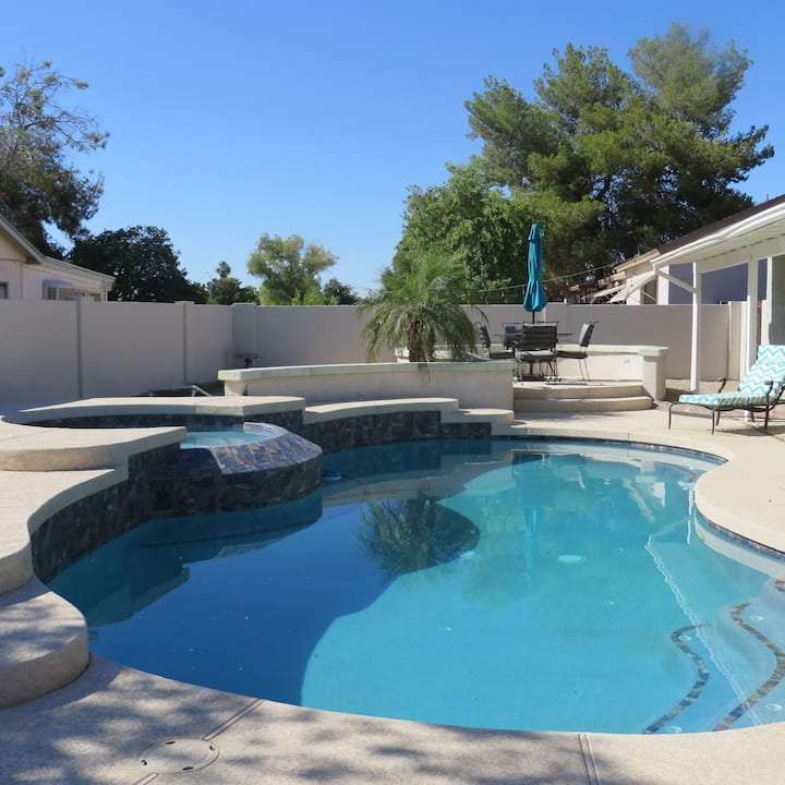 Perfect Peoria Home with Pool Vacation Rental