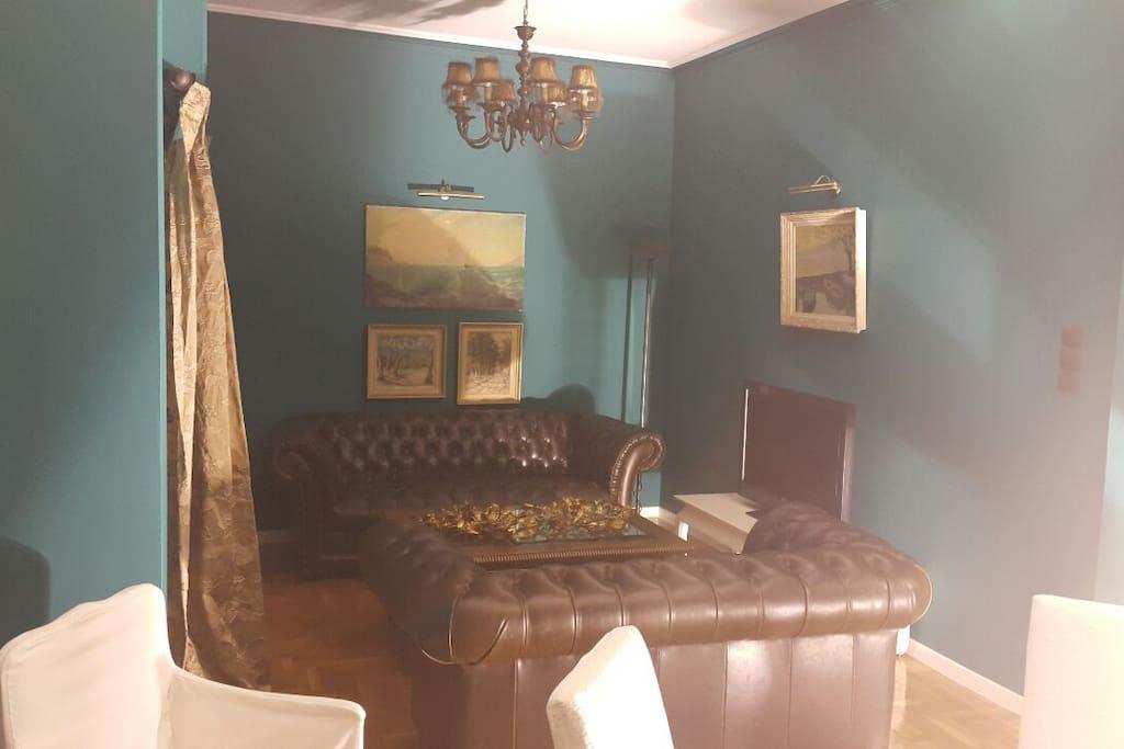 Living area - TV