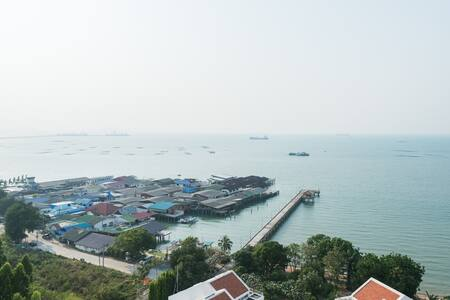 Sea View Sri Raja 2Bedroom 2bath room (pattaya) - コンドミニアム