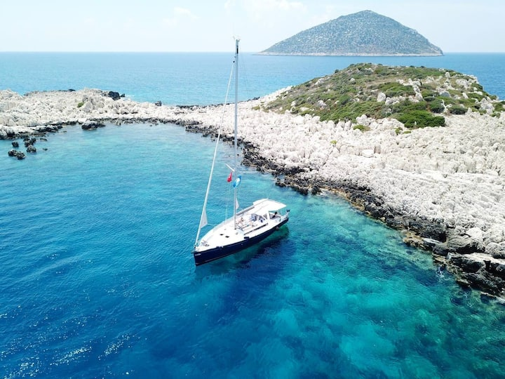 All Inclusive Luxury Sailing Yacht in Kalkan