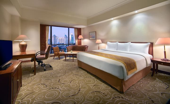 Stunning Double Or Twin Deluxe At Central Jakarta
