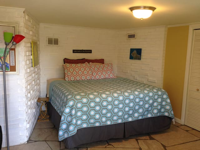 Private Bed&Bath w/Private Entrance - Asheville - Hus